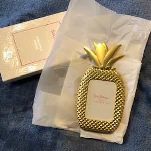 Lilly Pulitzer Pineapple Frame